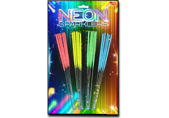 Neon Sparklers (28cm) by Klasek