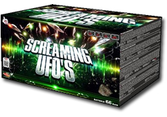 Screaming UFO's by Klasek