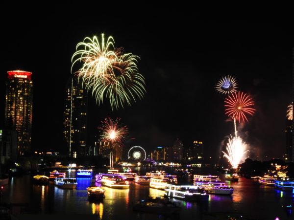 fireworks in bangkok