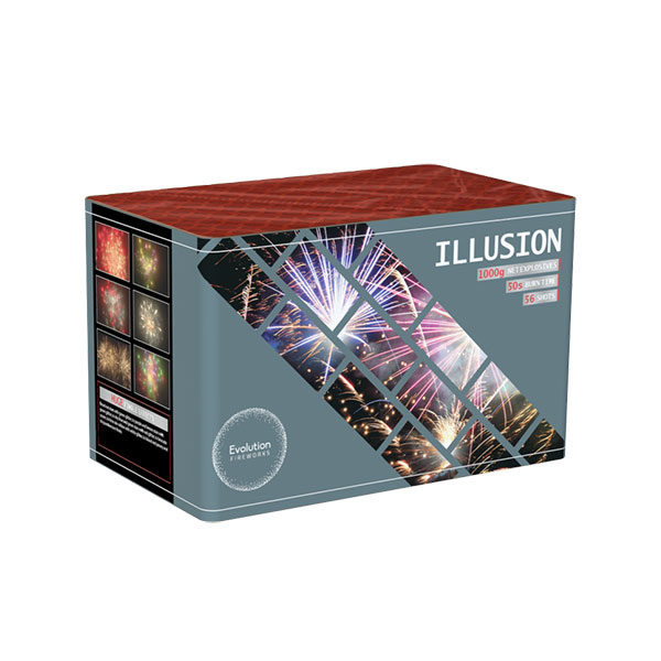 Illusion by Primed Pyrotechnics