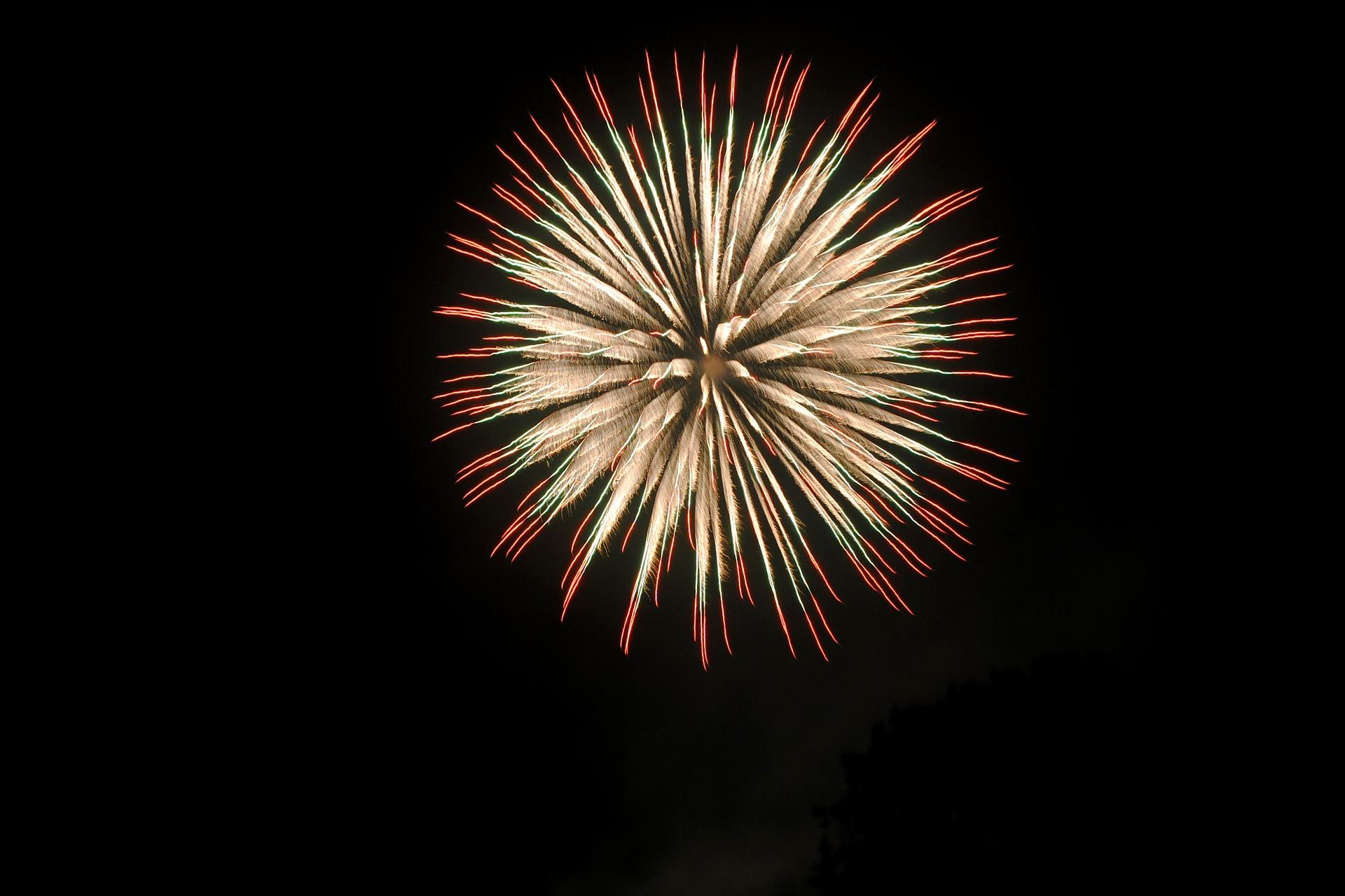 circular large fireworks