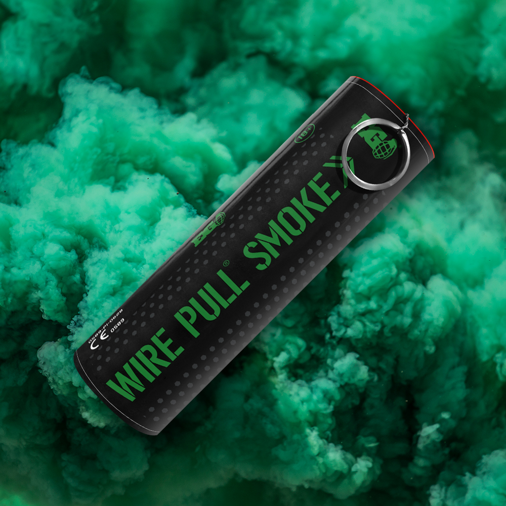 WP40 Green Smoke - By Enola Gaye