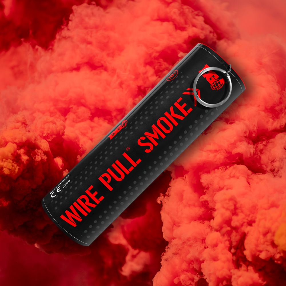 WP40 Red Smoke - By Enola Gaye