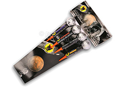 Mission to Mars (4 Ring Rockets) by Black Cat Fireworks