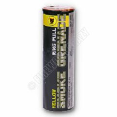 Wire Pull Yellow Smoke Grenade from Black Cat