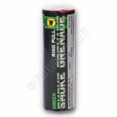 Green Smoke Grenade - By Black Cat Fireworks