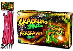 Žabák malý (Crackling Snakes 12 Pack) by Klasek