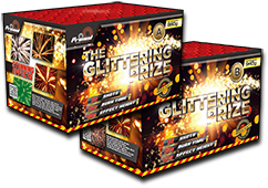 Glittering Prize A&B by Primed Pyrotechnics