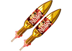 Primed Pyrotechnics - Kings Crown Rockets
