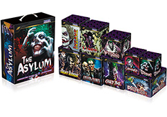 The Asylum 9 Cake Assortment By Vivid Pyrotechnics