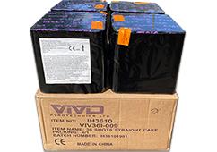 4 x 25i Mixed Cake Pack by Vivid Pyrotechnics