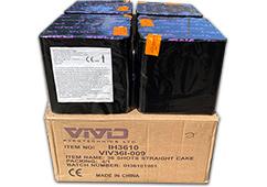 4 x 36i Mixed Cake Pack by Vivid Pyrotechnics