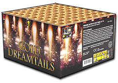 Gold Dreamtails by Zeus Fireworks