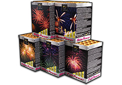Zeus Fireworks - Powerful 5 Assortment