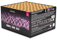 Zeus Fireworks Purple Dreamtails