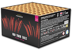 Red Dreamtails by Zeus Fireworks
