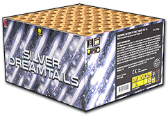 Silver Dreamtails by Zeus Fireworks