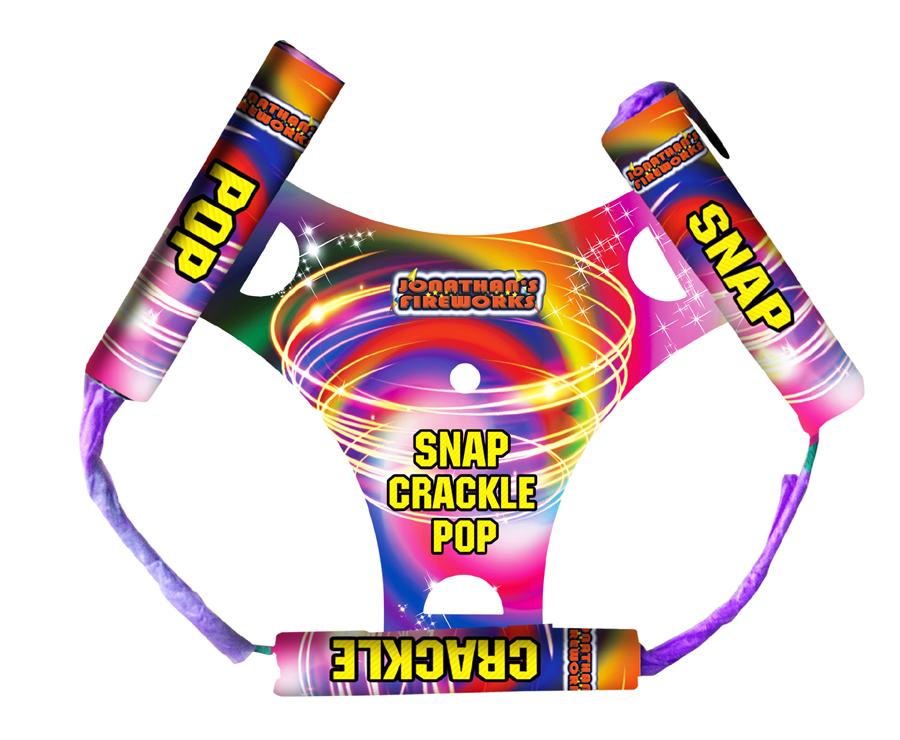 Snap Crackle Pop Wheel by Jonathans Fireworks