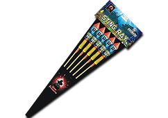 Viper Fireworks - Sting Ray Rocket Pack