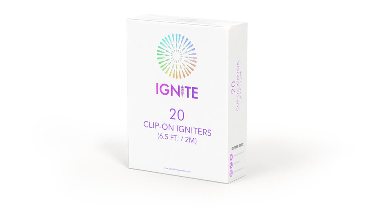 Ignite Talon Igniters (QuickClips) 20 Pack