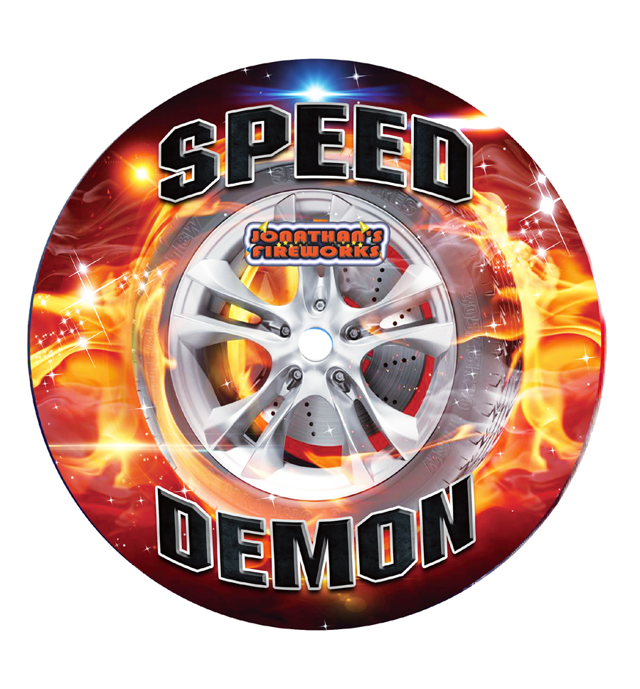 Speed Demon Catherine Wheel by Jonathans Fireworks