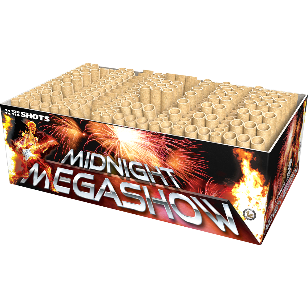 Midnight Megashow by Lesli Fireworks