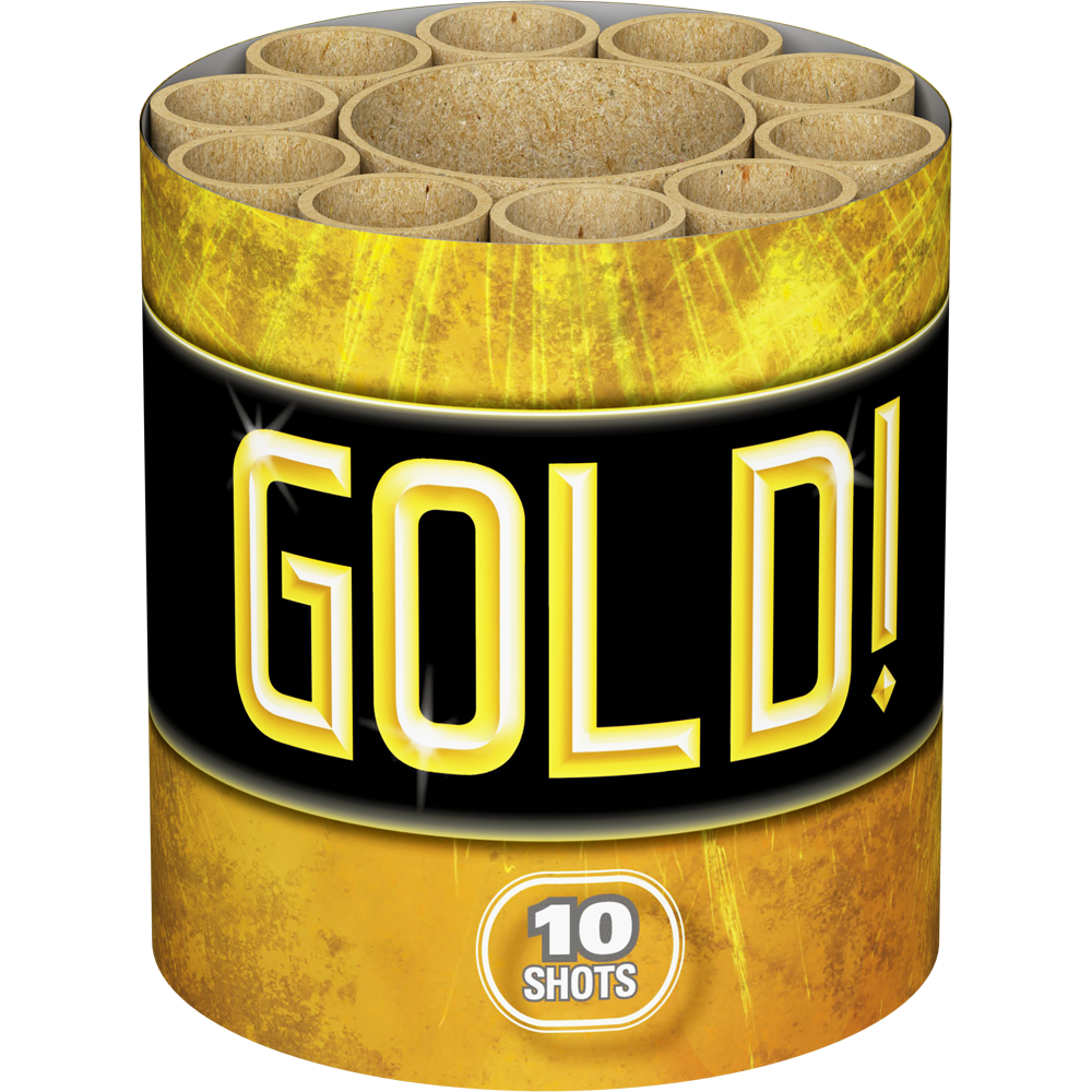 Gold! by Lesli Fireworks