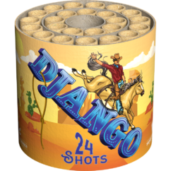 Django 24 shot fireworks