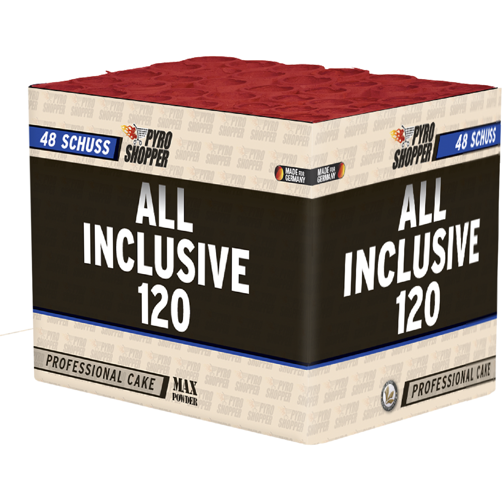 All Inclusive 120 by Lesli Fireworks