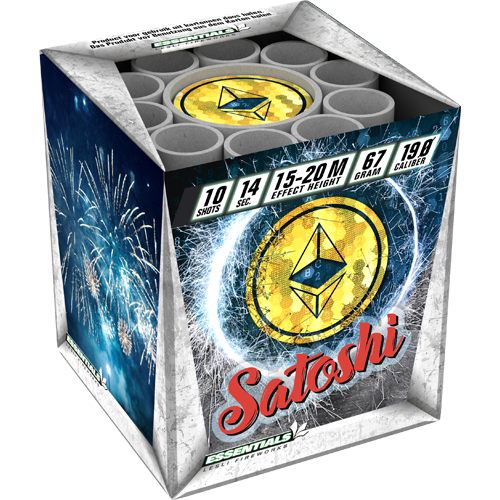 Satoshi by Lesli Fireworks